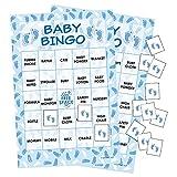 It's a Boy Baby Shower Bingo Game - 24 Guests