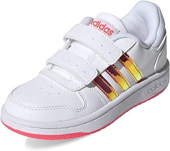 Reprimir nostalgia gráfico  adidas Unisex Kid's Hoops 2.0 CMF C Sneaker: Amazon.co.uk: Shoes & Bags