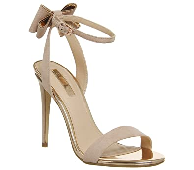 db34a7fea7 Office Helena Bow Back Sandal Nude Rose Gold - 9 UK: Amazon.co.uk ...