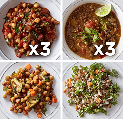 Babeth's Feast Vegan Main Course Sampler (8oz x 8 Main Dishes) - Heat and Serve/No Preservatives