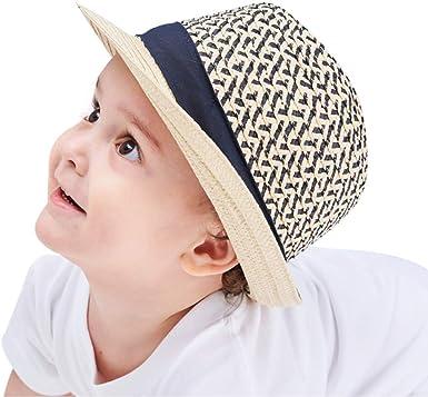 Sombrero Sol Bebé Niño Gorras Infantiles Viseras Gorros Verano ...