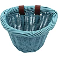 KINGWILLOW Bike Basket, Little Box Made by Willow for Bicycle, Arts and Crafts.