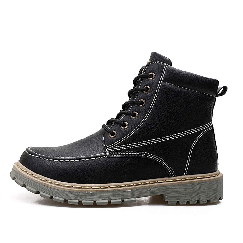 zgshnfgk Mens Lace Up Casual Shoes Ankle Martin Boots