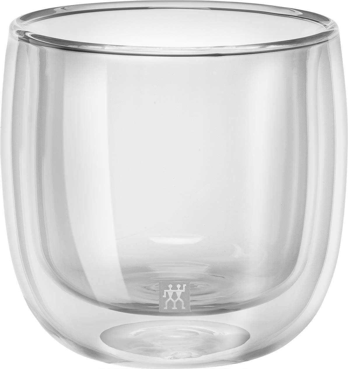 ZWILLING J.A 2 Piece Set Glass HENCKELS 39500-077 Sorrento Double Wall Tea Glass