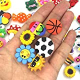 Mahoo 40 Pieces Kawaii Shoes Charms Shoes Wristband Bracelet and Gifts