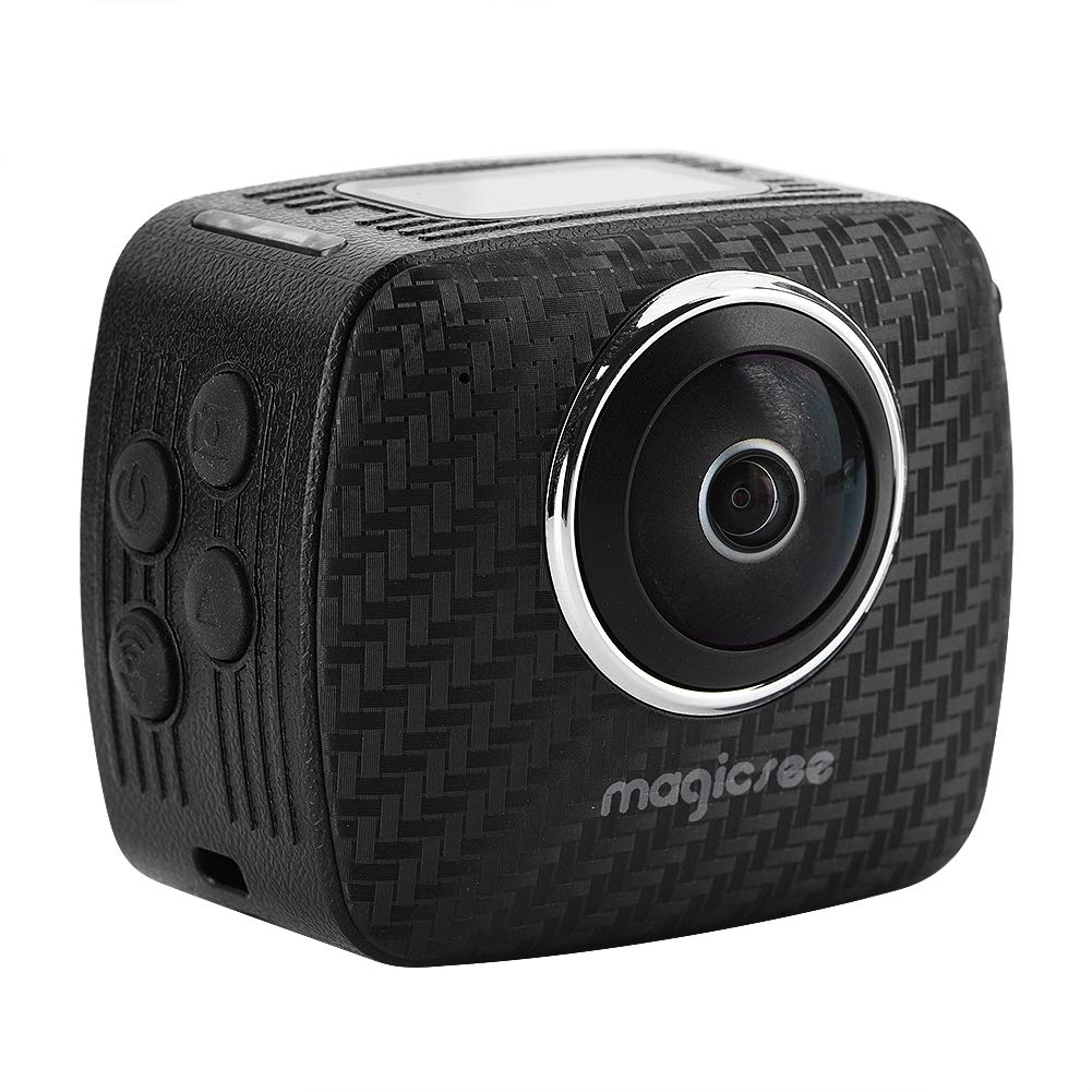 Panoramic Motion Camera with Dual 15 MP HD Lens,360°Omnidirectional View,30M Depth Waterproof,Support for 3040 × 1520 HD Video Wal front