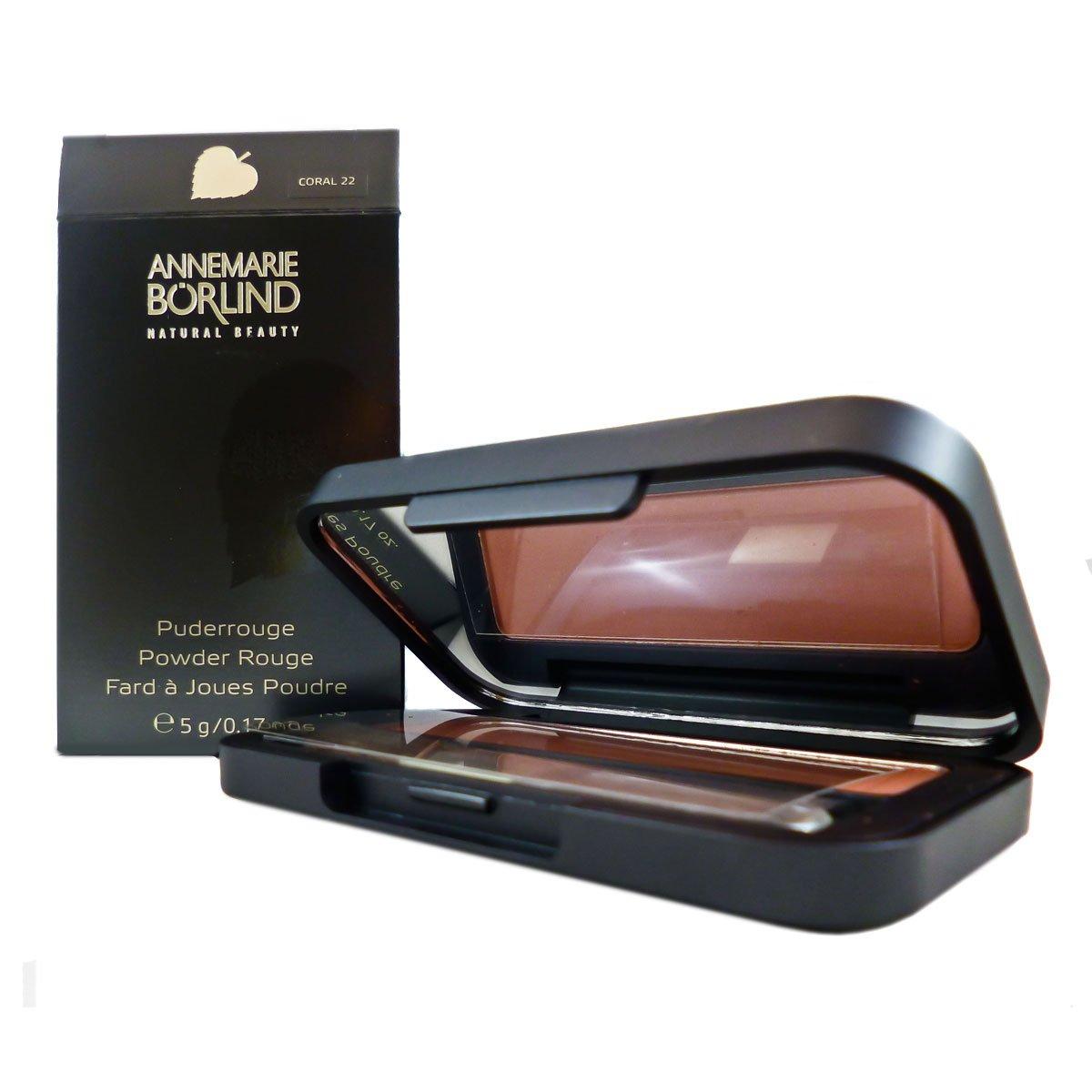 Annemarie Börlind Powder Rouge Nr. 22 coral, 1er Pack (1 x 5 ml) 4011061506222