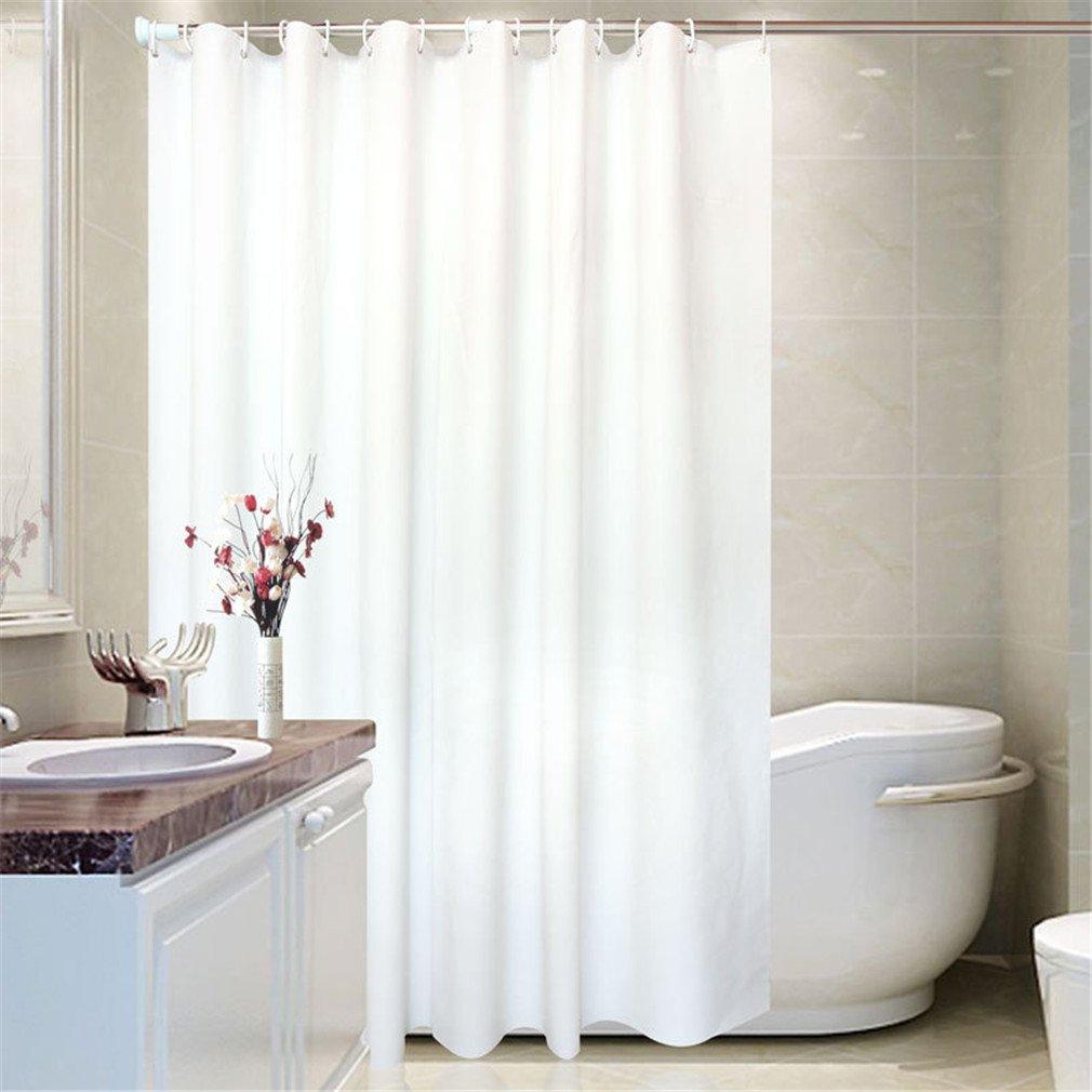Amazon.com: Western Texas Star Bathroom Shower Curtain with 12 Hooks ...