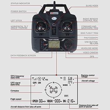 Lily Dron Profesional de Cuatro Ejes sin escobillas, vehículo ...