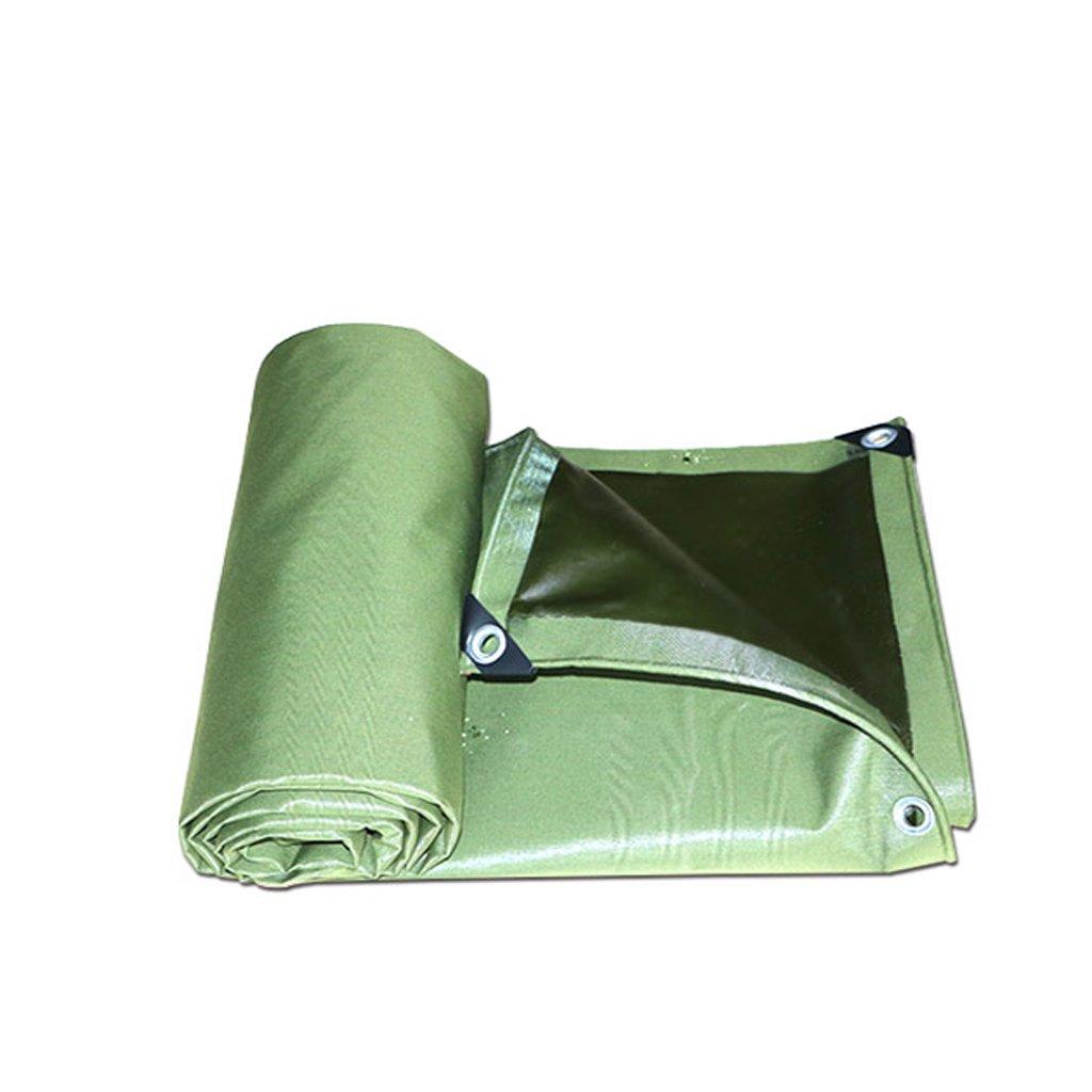 Hyzb Segeltuch-Wasserdichte Plane-Grundplatten-Abdeckungen für das Kampieren, Fischen, im Garten arbeitend 700g   m2 Stärke 0.75mm, Multi-Größe Optiona (größe   3  3m)