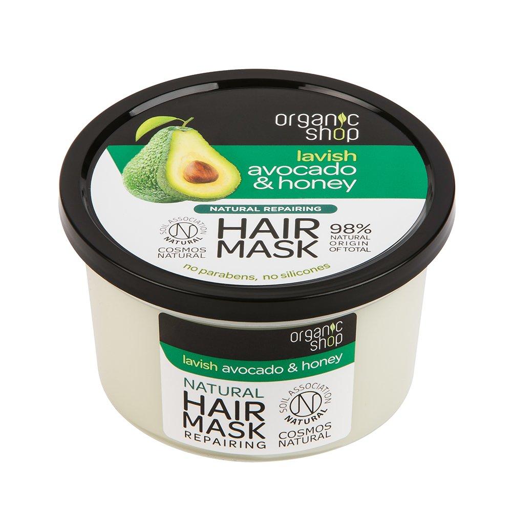 Organic Shop Avocado & Honey Repairing Hair Mask Eurobio Lab OU 3022E