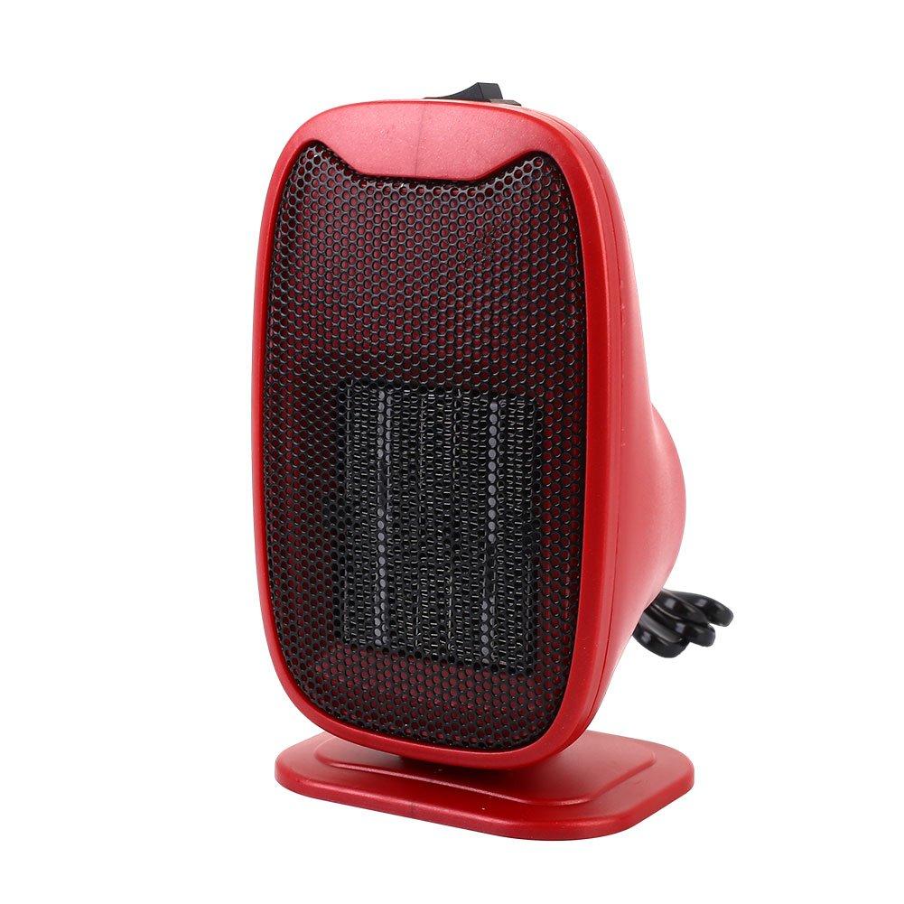 Sedeta 220V Portable Mini Electric Handy Air Heater Warm Blower for driver winter Room Home Office Black Warm Blower for driver winter Room Home Office Black