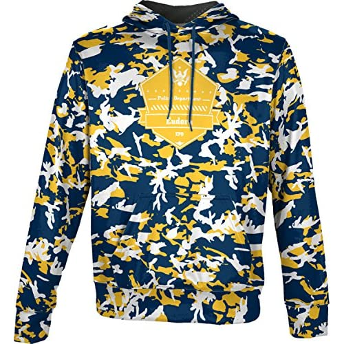 ProSphere Boys' Eudora Police Department Camo Hoodie Sweatshirt (Apparel) for sale