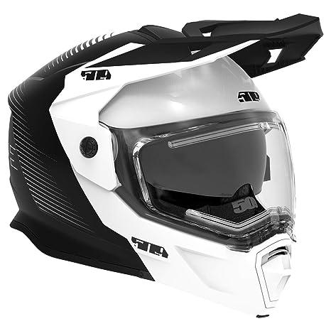 Amazon.com: 509 Delta R4 Ignite Helmet (Storm Chaser - Large ...