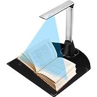 Kacsoo Escáneres De Documentos A3 Portátil, Tasa De Reconocimiento del 98% Cámara De Documentos con Micrófono…
