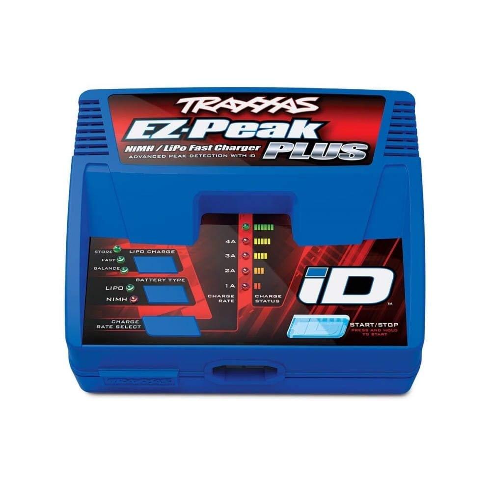 Chargeur EZ-Peak Plus 4-amp NiMH//LiPo avec ID Auto Traxxas 2970G