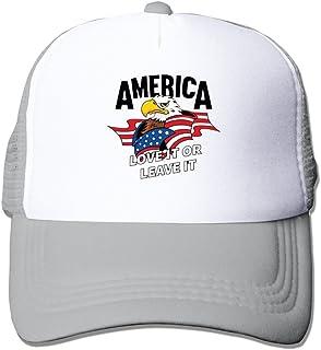 XCarmen Black America USA Flag With Eagle Snapback Hats Style Ash