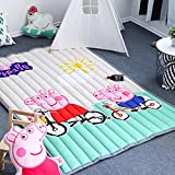 Baby Crawling Rugs Anti-slip - Rectangle Thick Home Decor Children Cartoon Animals Rugs 59 X 79 Inch Peppa Pig