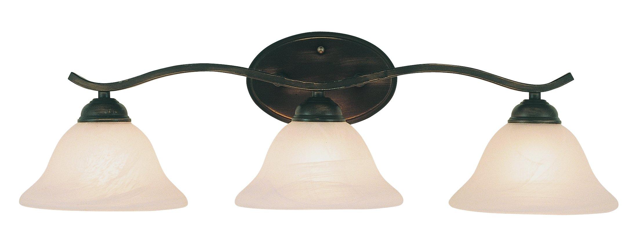 Trans Globe Lighting 2827 ROB Indoor  Hollyslope 26'' Vanity Bar, Rubbed Oil Bronze