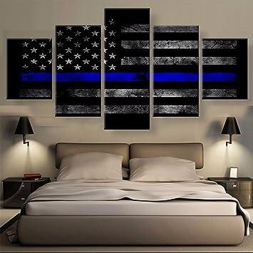 Gehören Rahmen 5 Wand Bilder Für Wohnzimmer Bild Drucken Amerikanische  Flagge Gemälde Auf Leinwand Wand Kunst