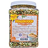 San Francisco Bay Brand SSF71956 Bulk Healthy Herp Bearded Dragon Mix Adult Instant Meal, 8-Ounce