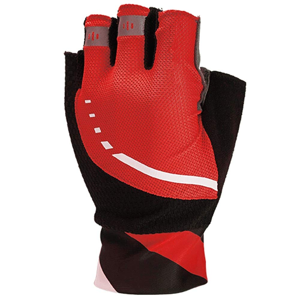 ZLC Feuchtigkeitsableitende hochelastische Stoßdämpfer-Mountainbike-Fahrradversion mit langem Handgelenk und kurzen Fingerhandschuhen