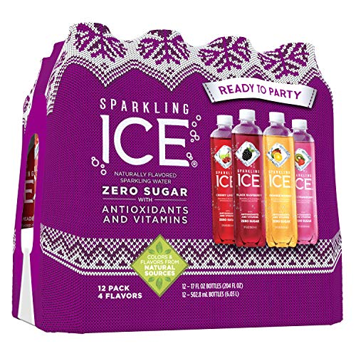 Sparkling Ice Variety Pack, 17 Fl. Oz (Pack of 12) - Packaging May Vary