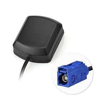 Eightwood Antena GPS Adaptador Fakra C con Cable de extensión Fakra de 3 m para el módulo GPS GPS para automóvil Antena de rastreo GPS Receptores GPS: ...
