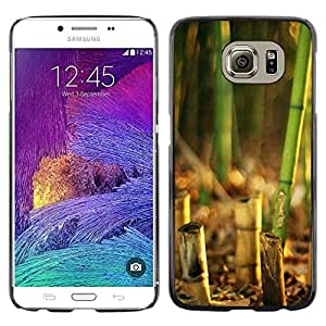 "For Samsung Galaxy S6 , S-type Naturaleza Hermosa Forrest Verde 135"" - Arte & diseño plástico duro Fundas Cover Cubre Hard Case Cover"
