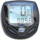 Outfun 防水 14 機能自転車LCD  サイクルメーター サイクルコンピューター スピードメーター 走行距離計 走行時間計 防水 14功能がある