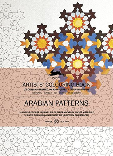 Pepin Press Pepin Press Arabian Patterns : ARTISTS'COLOURING BOOK (98024 )