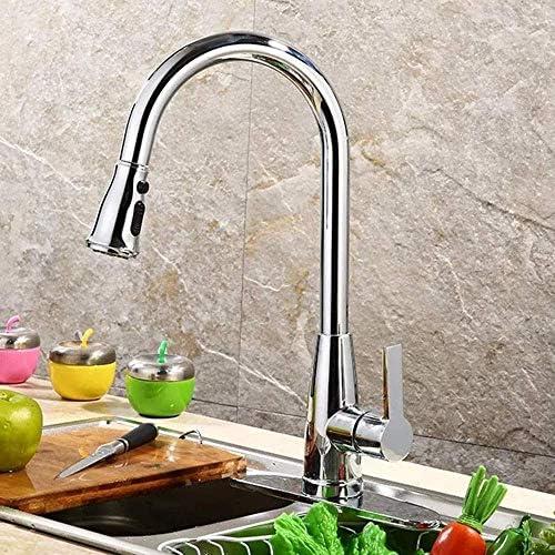 BXU-BG キッチンのシングルクローム蛇口浴室用タップをミキシングお湯と水を揚水流域の蛇口の浴室の蛇口ダイヤモンド春三節