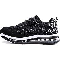 Axcone Damen Herren Sneaker Laufschuhe Air Sportschuhe Turnschuhe Running Fitness Sneaker Outdoors Straßenlaufschuhe Sports Kletterschuhe 36EU-46EU