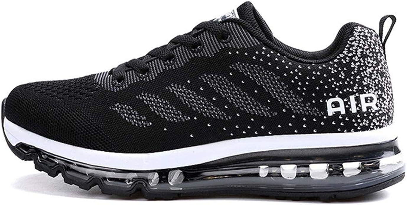 Axcone Zapatillas Hombres Mujer Deporte Running Zapatos para Correr Gimnasio Sneakers Deportivas Padel Transpirables Casual 34-46EU: Amazon.es: Zapatos y complementos