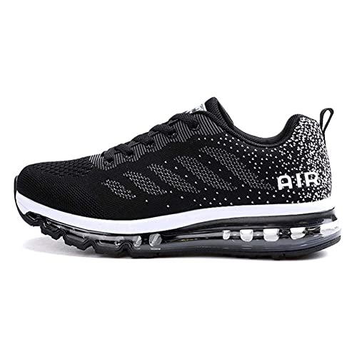 Axcone Homme Femme Air Running Baskets Chaussures Outdoor Running Gym Fitness Sport Sneakers Style Multicolore Respirante 34EU 46EU