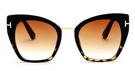 Sucatle Tendencia, nuevo, moda, bloques, gafas de sol, las ...