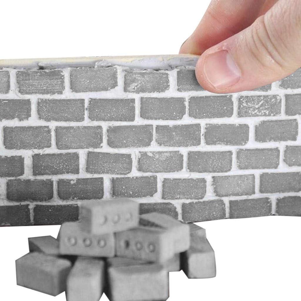 YUYOUG - Juego de 32 Mini Ladrillos de Cemento para Construir ...