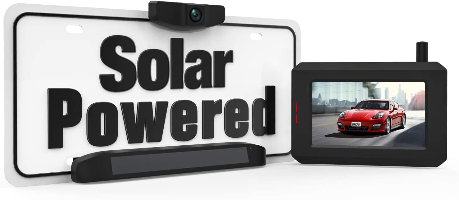Boscam Solar Wireless Backup Camera $107.79 Coupon