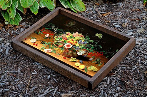 cherry ottoman tray - 7