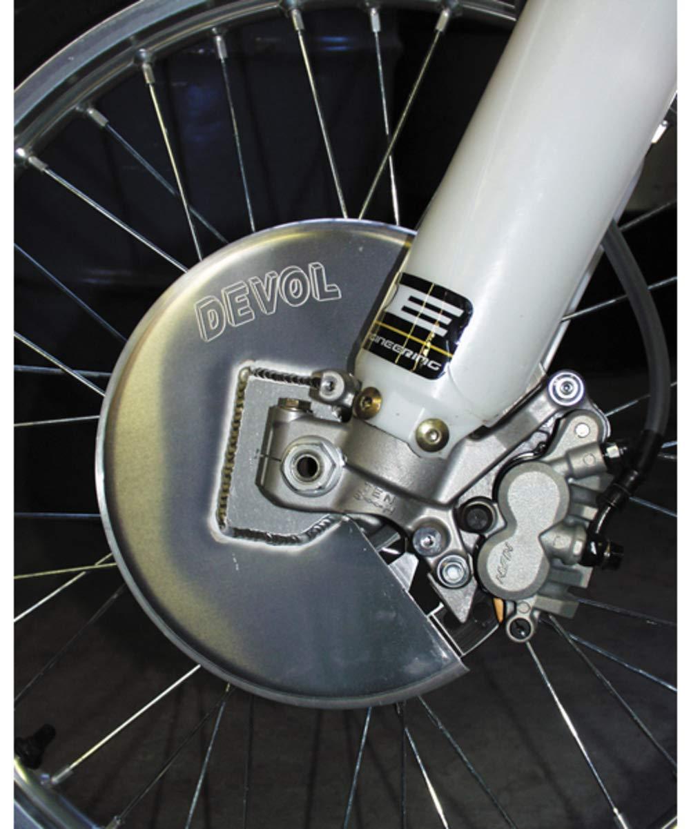 Devol Front Disc Guard Aluminum for Honda XR 400R 650R 96-07