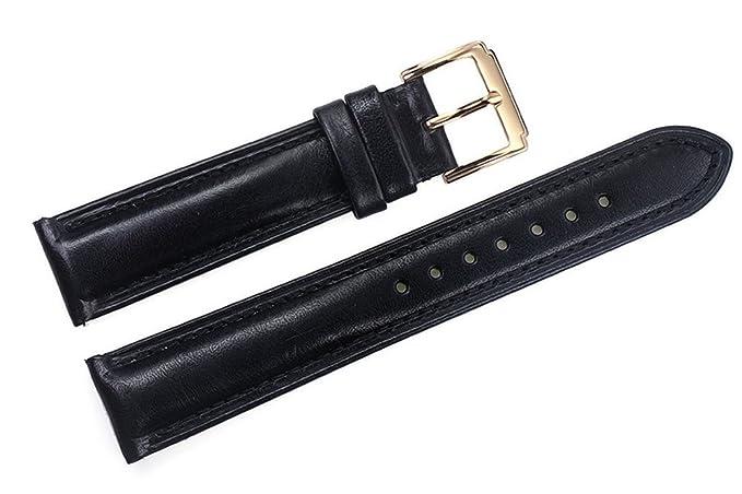 De Poignet Pour Tannées Remplacement Huile 18mm Véritable Le Bracelets Noires Sangles Semi Avec Montres Luxe Cuir Femmes Italien Des 8wnN0m