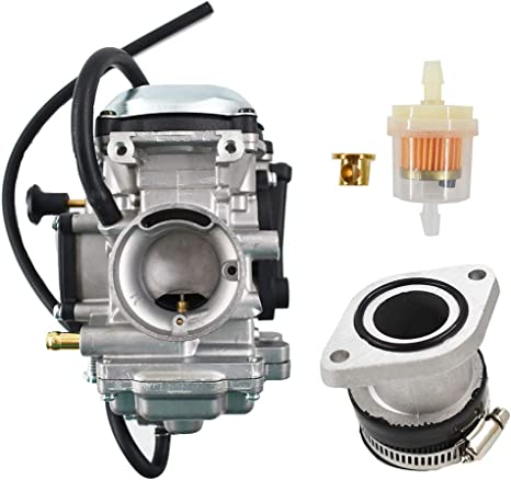 Carburetor for Kawasaki Prairie 400 KVF400 Yamaha Bear Tracker 250 YFM250 99-04