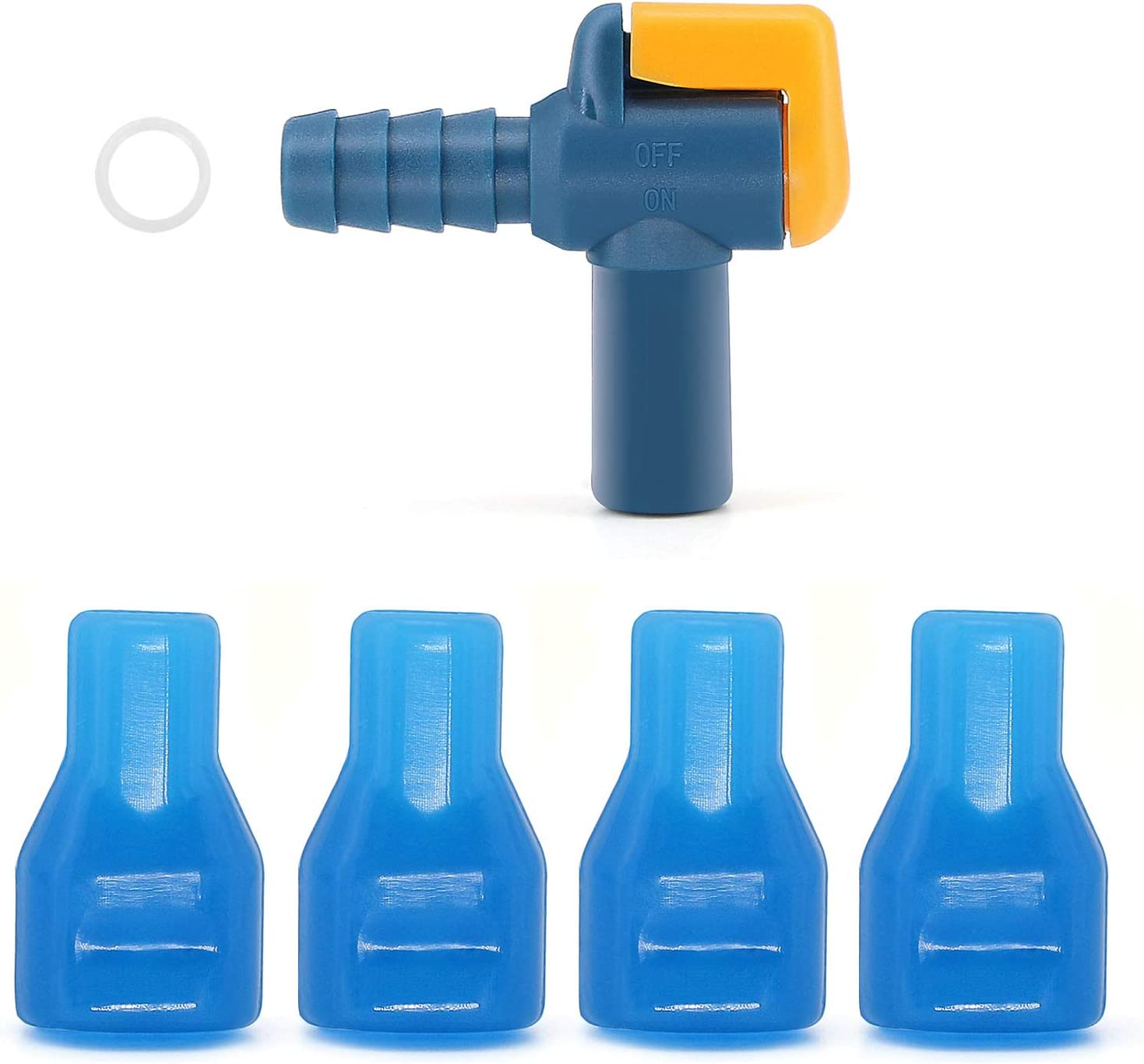 and 3 Mouthpieces Replacements for Hydration Water Bladder 1 Switch Bite Valve 4 in 1 J.CARP Bite Valve Kit