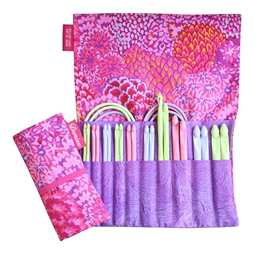 Set Cord Ended - Denise2Go, Crochet for a Cure 2-Hook, Interchangeable Crochet kit -