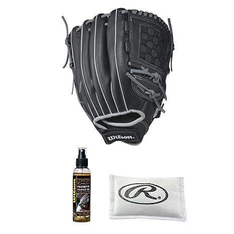 6086f9cef969d Amazon.com   Wilson A360 Baseball Glove Series - Utility Model (12.5 ...