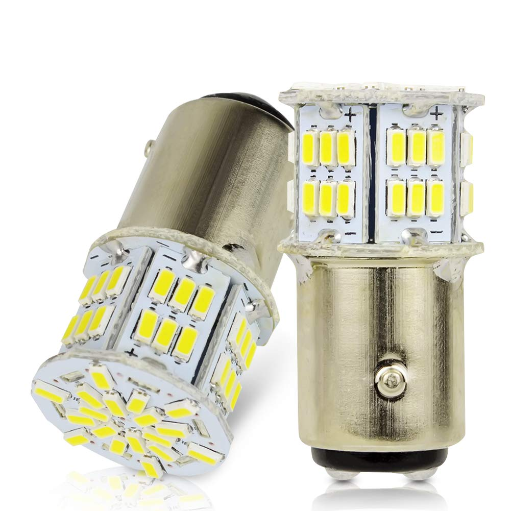 LncBoc 39mm 1.53'' Festoon LED C5W Bulbs 30-SMD 3014 LED White Replacement Bulb With Aluminium Sink For Car Interior Dome Light License Plate Trunk Light DC 12V 39mm Pack of 4 YSD
