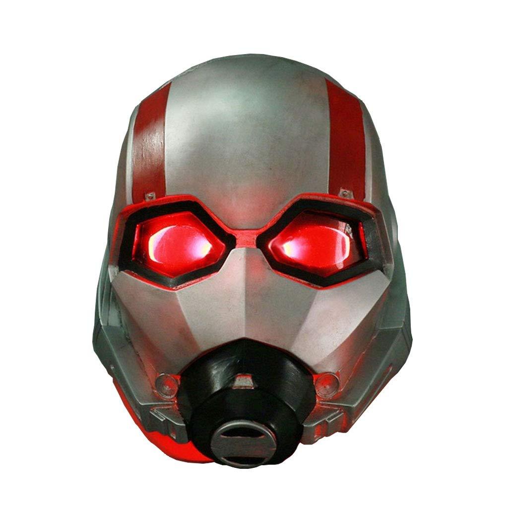 Mask- Hero Warrior Casco Máscara Resina Adulto Hombres Cosplay Disfraz Masquerade Party Halloween (Color : C)