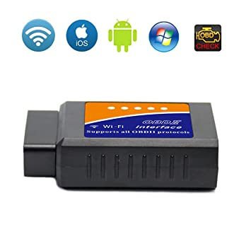 Autogenie/© Bluetooth REAL-TIME data on mobile phone OBD-2 vehicle diagnostic device Torque Android Windows smartphone car vehicle reader OBDII adapter diagnostic tool CAN bus interface torque