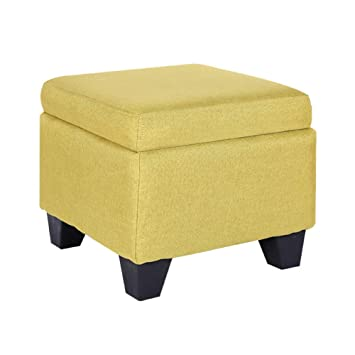 Swell Zzaini Cube Storage Ottoman Linen Footstools Square Bench Pdpeps Interior Chair Design Pdpepsorg