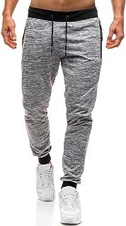 SOMESUN Uomo Autunno Joggers Patchwork Casuale Tempo Libero Giuntura Coulisse Pantaloni della Tuta Pantaloni Stampati,Lavoro Invernali Elegante Jeans Pantaloni Tuta Uomo Felpati